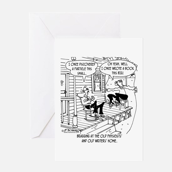 At the Old Physicist Home Greeting Card