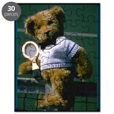 Teddy Bear with Tennis Racket Puzzle