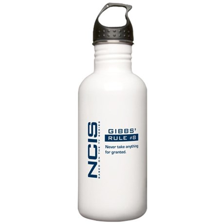 NCIS Gibbs' Rule #8 Stainless Water Bottle 1.0L