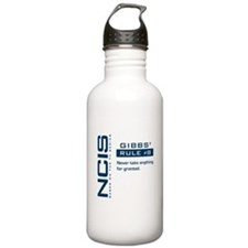 NCIS Gibbs' Rule #8 Water Bottle