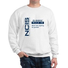 NCIS Gibbs' Rule #8 Sweatshirt