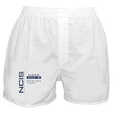NCIS Gibbs' Rule #8 Boxer Shorts