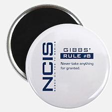 "NCIS Gibbs' Rule #8 2.25"" Magnet (10 pack)"
