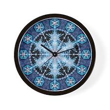 Snowflake 22 Wall Clock