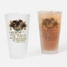Shakespeare Hamlet Quote Drinking Glass