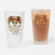 Comedy of Errors Quote Drinking Glass