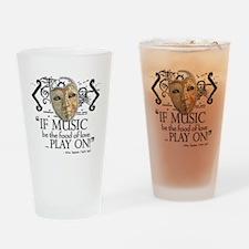Twelfth Night Drinking Glass