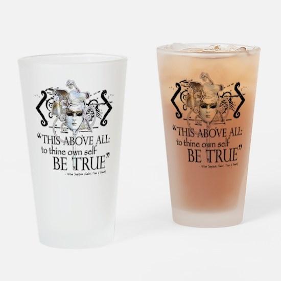 Hamlet III Drinking Glass