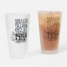 Romeo & Juliet Drinking Glass