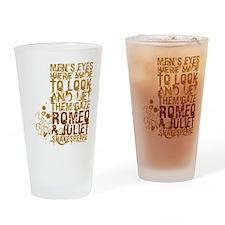 Romeo & Juliet Drinking Glass
