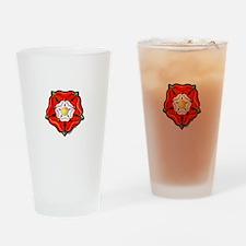 Single Tudor Rose Drinking Glass