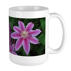 Clematis 'Nelly Moser' Mug