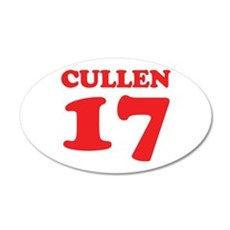Cullen 17 22x14 Oval Wall Peel