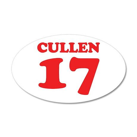 Cullen 17 38.5 x 24.5 Oval Wall Peel