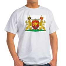 Brussels Coat Of Arms Ash Grey T-Shirt
