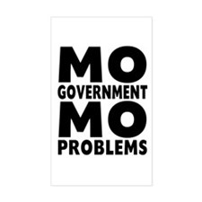MO GOVERNMENT MO PROBLEMS Decal