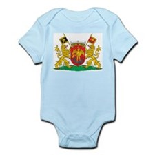 Brussels Coat Of Arms Infant Creeper