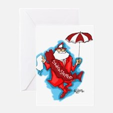 Cool New orleans christmas Greeting Card