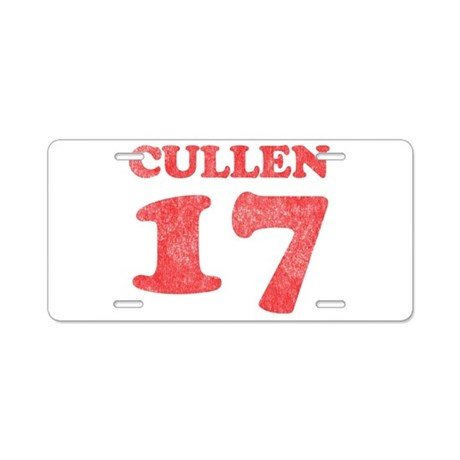 Cullen 17 Aluminum License Plate