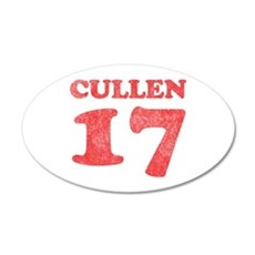 Cullen 17 38.5 x 24.5 Oval Wall Peel