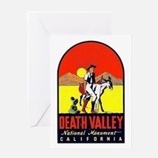 Death Valley Nat'l Monument Greeting Card