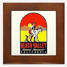 Death Valley Nat'l Monument Framed Tile