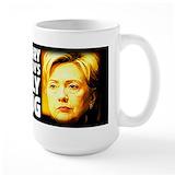 Hillary mugs Coffee Mugs