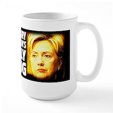 Hillary's Ugly Mug Mug
