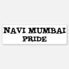 Navi Mumbai Pride Bumper Bumper Bumper Sticker