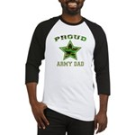 Proud Army Dad: Baseball Jersey
