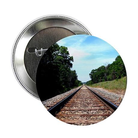 ".railroad tracks. color 2.25"" Button (100 pack)"
