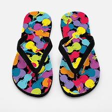 Colorful Violins - Flip Flops