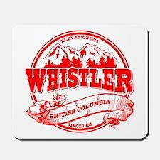 Whistler Old Circle 2 Mousepad