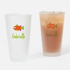 Gabrielle is a Big Fish Drinking Glass