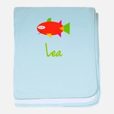 Lea is a Big Fish baby blanket