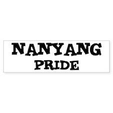 Nanyang Pride Bumper Bumper Sticker