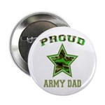 Proud Army Dad: Button