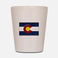 Colorado Equalizer Shot Glass