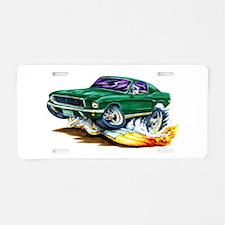 1968 Bullitt Aluminum License Plate