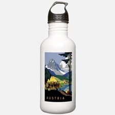 Austria Band Travel Water Bottle