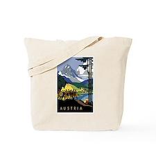 Austria Band Travel Tote Bag
