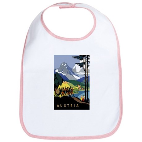 Austria Band Travel Bib