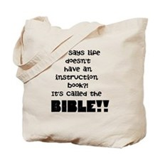 Bible 2 Tote Bag