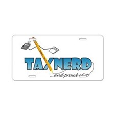 Cute Education business Aluminum License Plate
