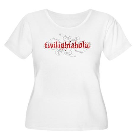 Twilightaholic Women's Plus Size Scoop Neck T-Shir