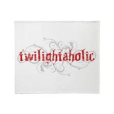 Twilightaholic Throw Blanket