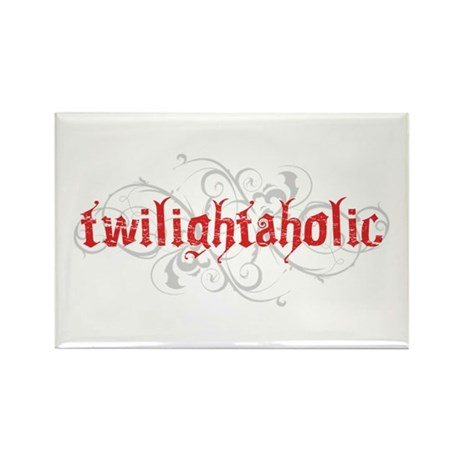 Twilightaholic Rectangle Magnet (10 pack)