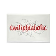 Twilightaholic Rectangle Magnet (100 pack)