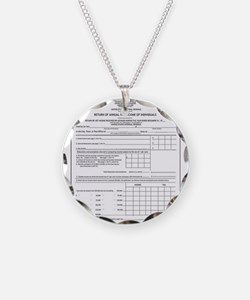 Funny Irs Necklace