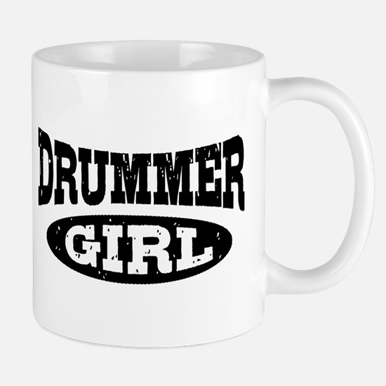 Drummer Girl Mug